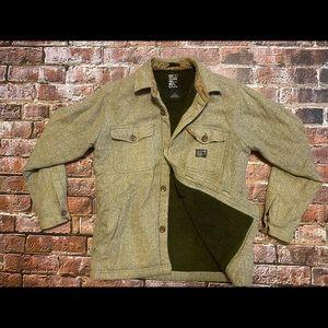 Billabong Sherpa Lined Button Down Shirt/Jacket